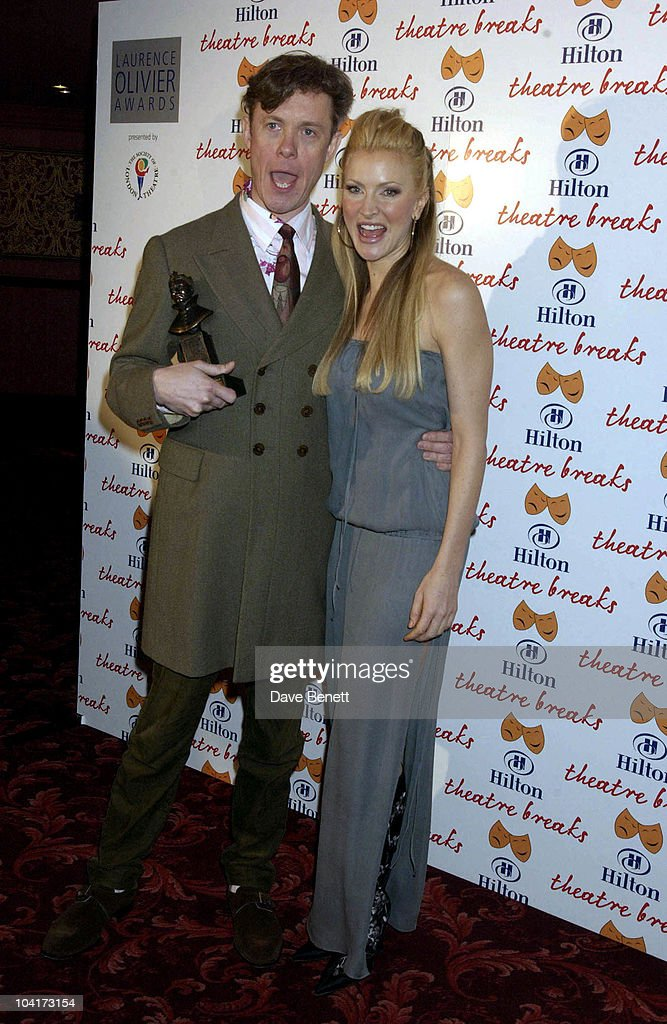 Alex Jennings And Caprice, The Laurence Olivier Theatre Awards 2003 Held At The Lyceum Theatre In London