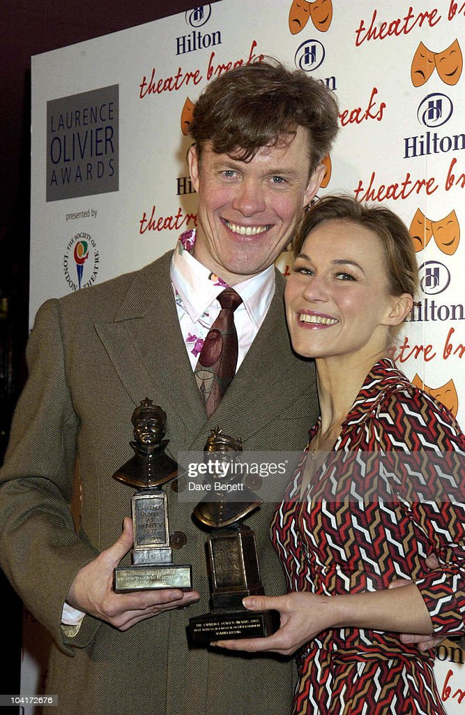 Alex Jennings And Joanne Ryder, The Laurence Olivier Theatre Awards 2003 Held At The Lyceum Theatre In London