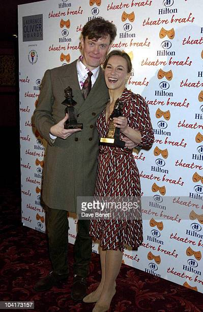 Alex Jennings And Joanne Ryder The Laurence Olivier Theatre Awards 2003 Held At The Lyceum Theatre In London