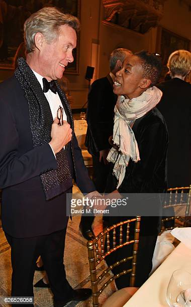 Alex Jennings and Noma Dumezweni attend as PORTER hosts a special performance of Letters Live in celebration of their Incredible Women of 2016 at The...