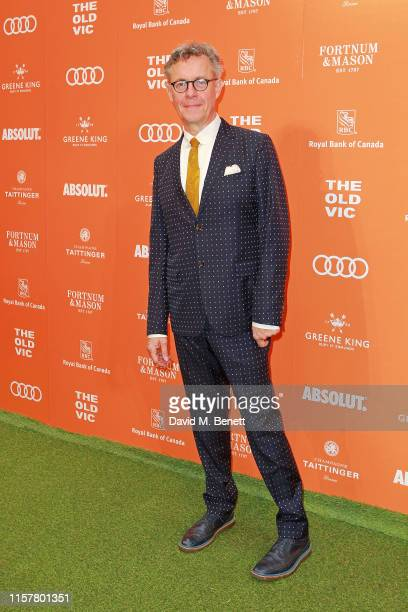 Alex Jennings attends the Midsummer Party for The Old Vic at The Brewery on June 23, 2019 in London, England.