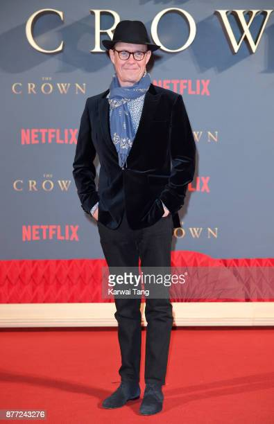 Alex Jennings attends the World Premiere of Netflix's 'The Crown' Season 2 at Odeon Leicester Square on November 21 2017 in London England