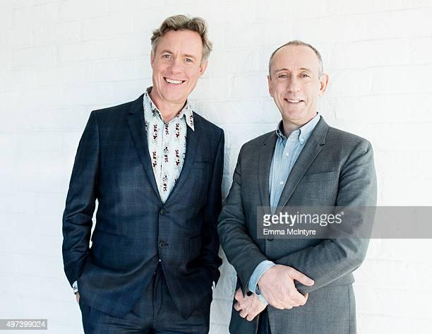 Alex Jennings of 'The Lady in the Van' and director Nicholas Hytner of 'The Lady in the Van' are photographed TheWrap at AFI Fest's Audi Sky Lounge...