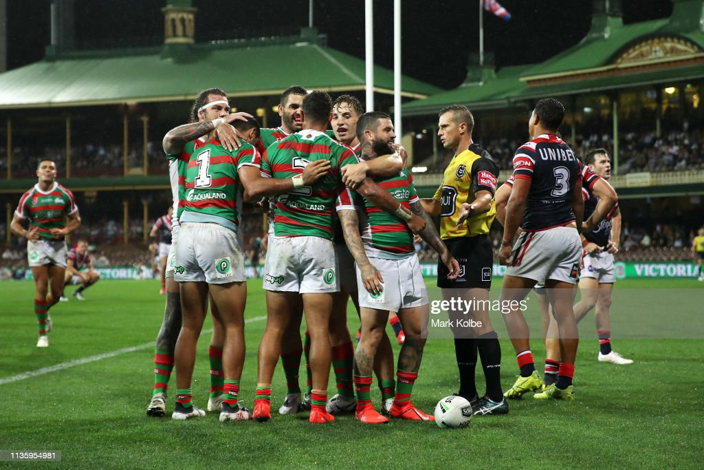 NRL Rd 1 - Roosters v Rabbitohs : News Photo