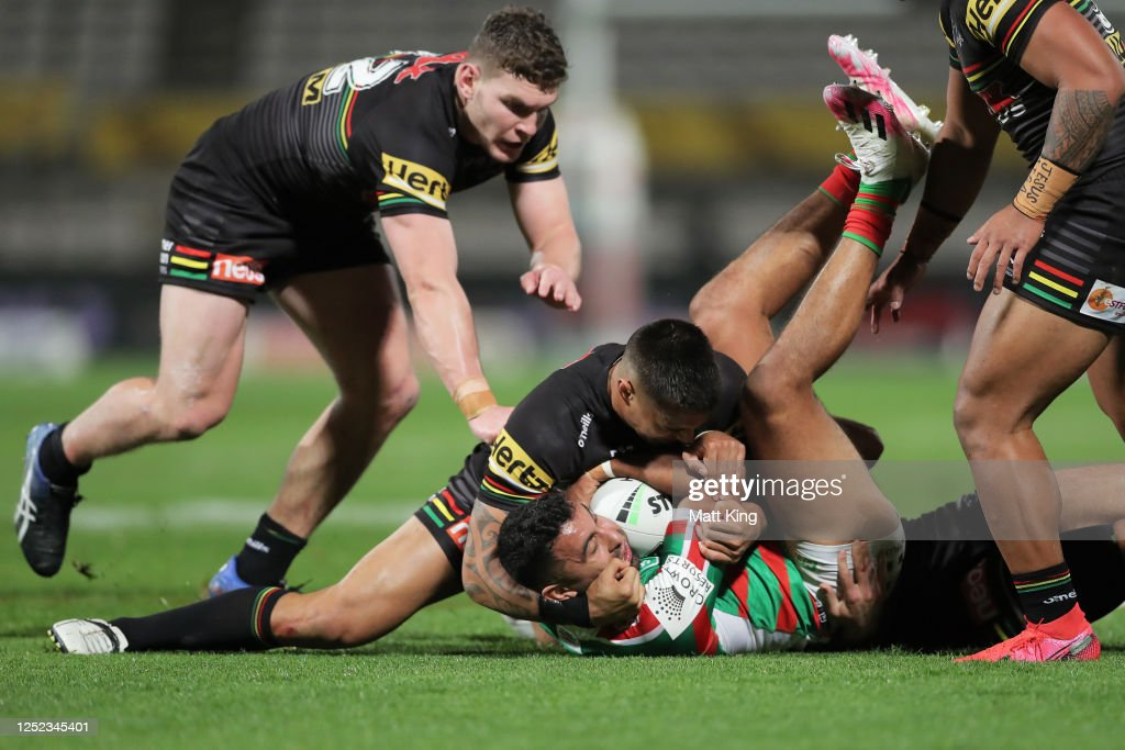 NRL Rd 7 - Panthers v Rabbitohs : News Photo