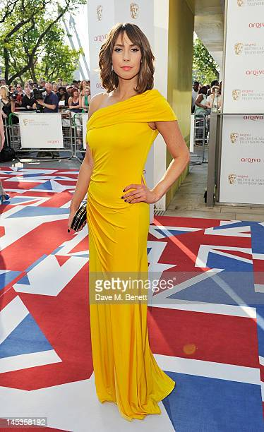 Alex Jones arrives at the Arqiva British Academy Television Awards 2012 at Royal Festival Hall on May 27 2012 in London England