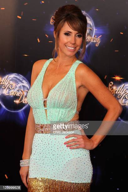 Alex Jones arrives at the Strictly Come Dancing 2011 press launch at BBC Television Centre on September 7 2011 in London England
