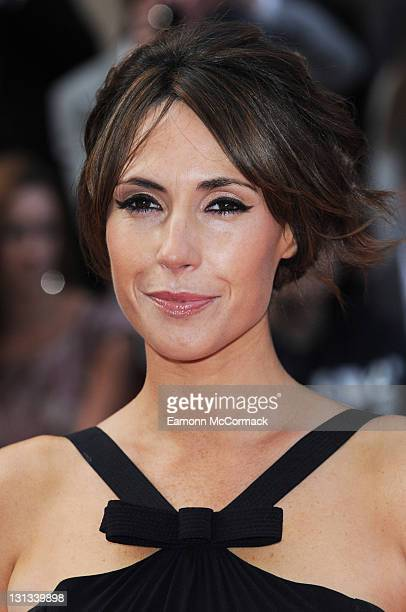Alex Jones arrives on the red carpet for The Philips British Academy Television Awards at Grosvenor House on May 22 2011 in London England