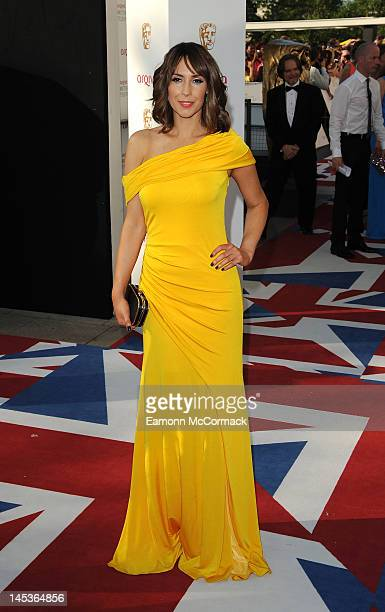 Alex Jones attends the Arqiva British Academy Television Awards at the Royal Festival Hall on May 27 2012 in London England