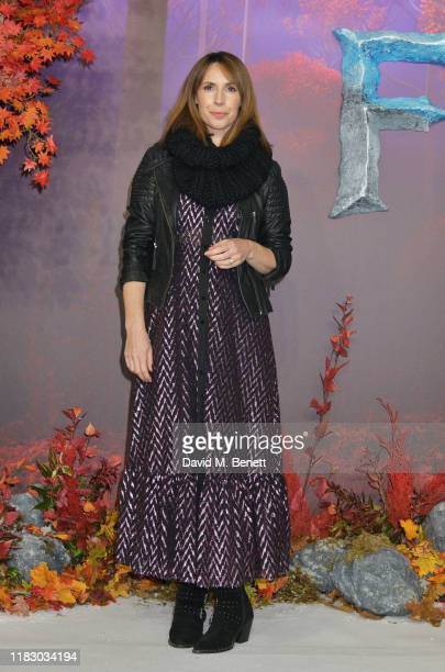 Alex Jones attends the European Premiere of Frozen 2 at the BFI Southbank on November 17 2019 in London England