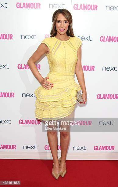 Alex Jones attends the Glamour Women of the Year Awards at Berkeley Square Gardens on June 3, 2014 in London, England.