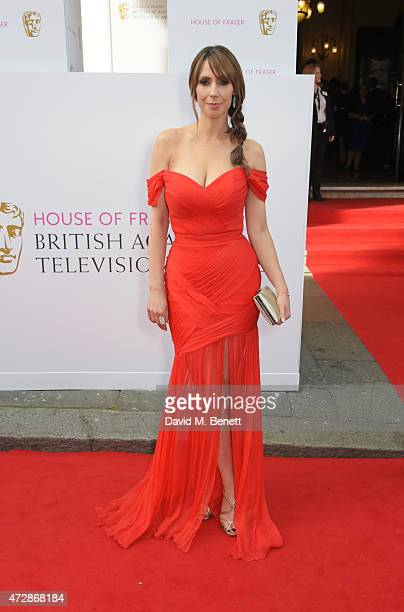 Alex Jones attends the House of Fraser British Academy Television Awards at Theatre Royal Drury Lane on May 10 2015 in London England