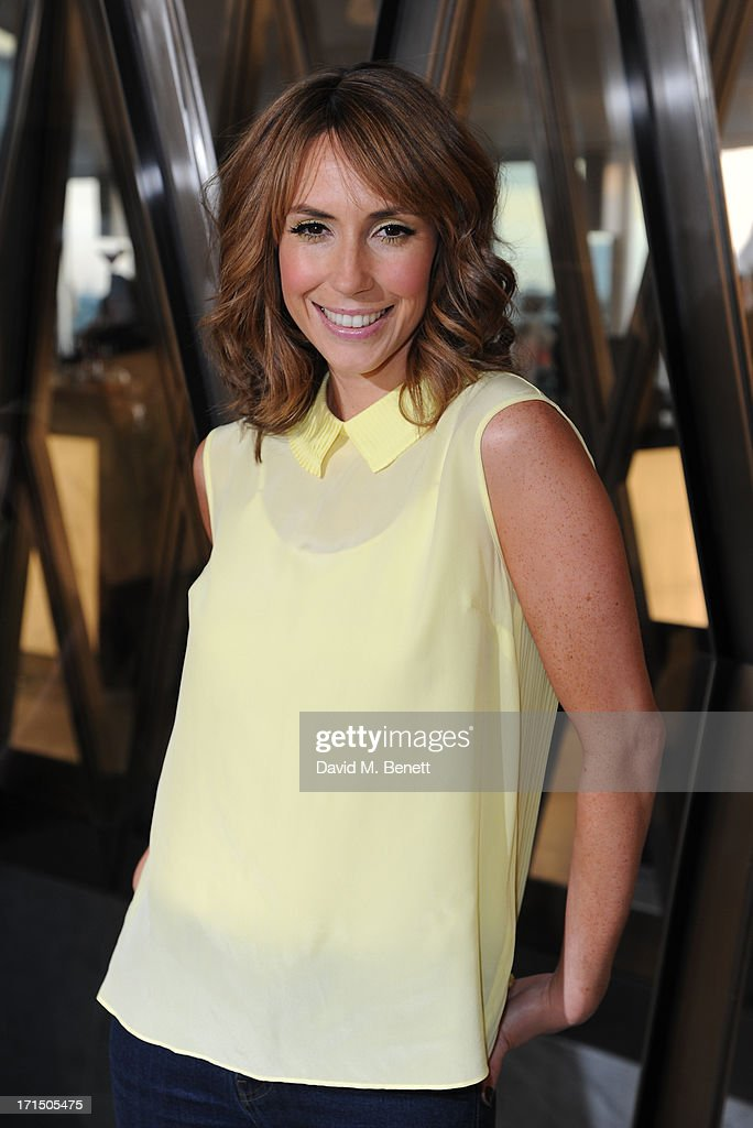 Alex Jones attends the Odabash Macdonald Resort 2014 collection launch at ME Hotel on June 25, 2013 in London, England.