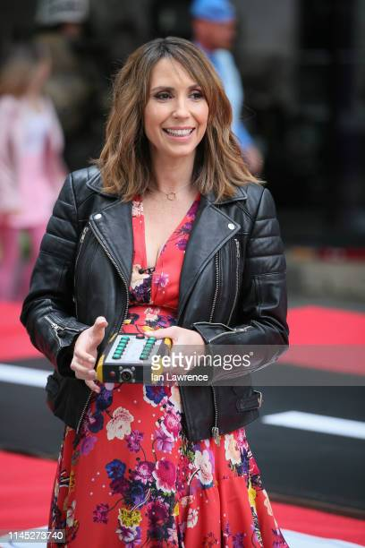Alex Jones films her last show for the BBC One Show on April 26 2019 in London England