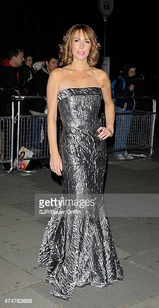 Alex Jones is seen at the Cosmopolitan Ultimate Woman of the Year awards at Victoria Albert Museum on October 30 2012 in London United Kingdom