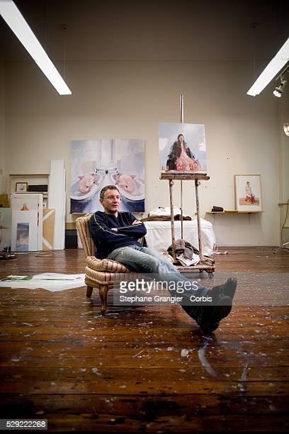 Alex Kanevsky painter photographed in Philadelphia
