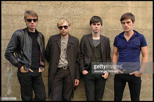 Alex Kapranos Bob Hardy Paul Thomson and Nick McCarthy