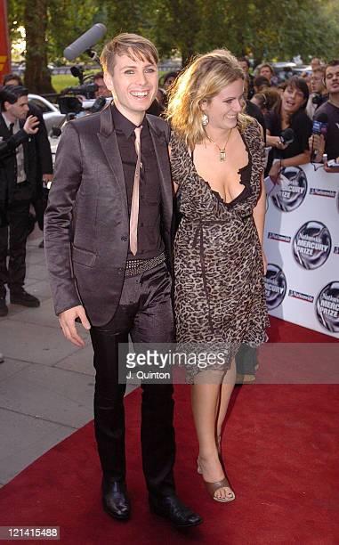 Alex Kapranos of Franz Ferdinand during 2004 Nationwide Mercury Music Prize Arrivals at Grosvenor House in London Great Britain