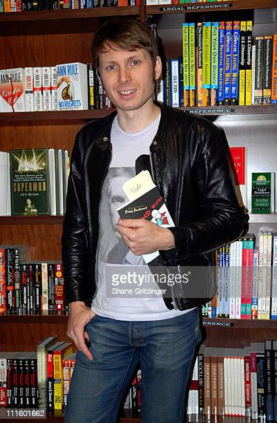 Alex Kapranos of Franz Ferdinand during Alex Kapranos of Franz Ferdinand Signs Copies of his Book 'Sound Bites Eating on Tour with Franz Ferdinand'...