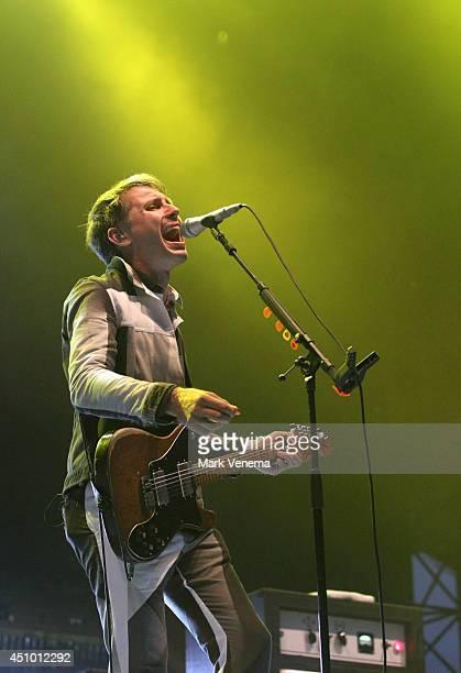 Alex Kapranos of Franz Ferdinand performs at Day 2 of Best Kept Secret at Beekse Bergen on June 21 2014 in Hilvarenbeek Netherlands