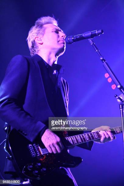 Alex Kapranos of Franz Ferdinand performs at REBEL on April 8 2018 in Toronto Canada