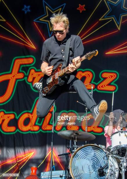 Alex Kapranos of Franz Ferdinand performs during Day 1 at Shaky Knees Festival at Atlanta Central Park on May 4 2018 in Atlanta Georgia Alex Kapranos