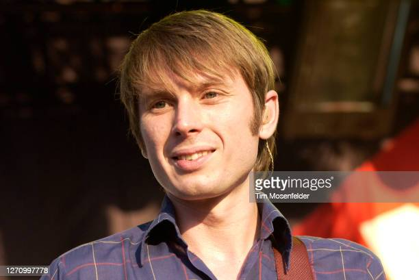 Alex Kapranos of Franz Ferdinand performs during day three of the Austin City Limits Music Festival at Zilker Park on September 24, 2005 in Austin,...