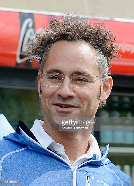 Alex Karp CEO of Palantir Technologies a software company attends the Allen Company Sun Valley Conference on July 11 2012 in Sun Valley Idaho The...
