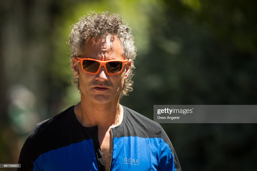 Alex Karp, chief executive officer of Palantir Technologies, attends