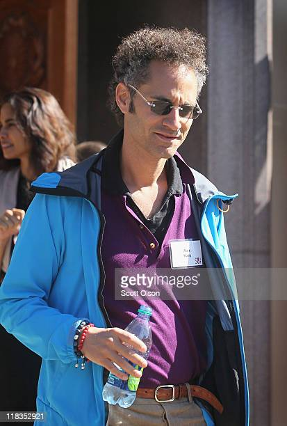 Alex Karp cofounder and Chief Executive Officer of Palantir Technologies attends the Allen Company Sun Valley Conference on July 6 2011 in Sun Valley...