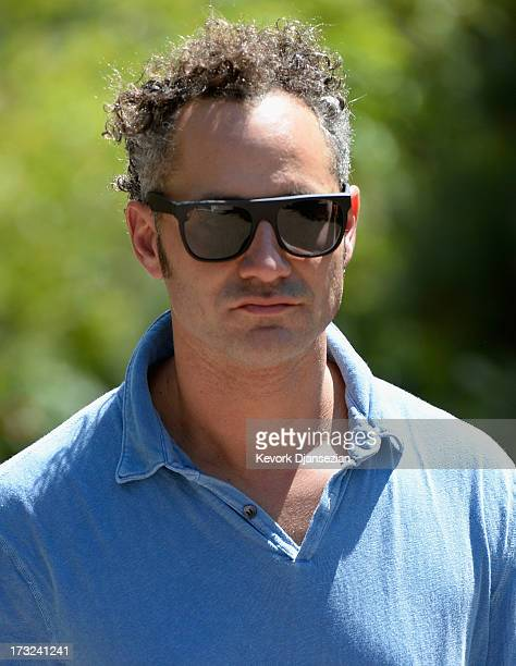 Alex Karp cofounder and Chief Executive Officer of Palantir Technologies attends the Allen Co annual conference on July 10 2013 in Sun Valley Idaho...
