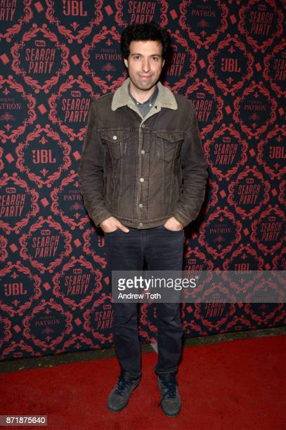 Alex Karpovsky attends the season 2 premiere of 'Search Party' at Public Arts at Public on November 8 2017 in New York City