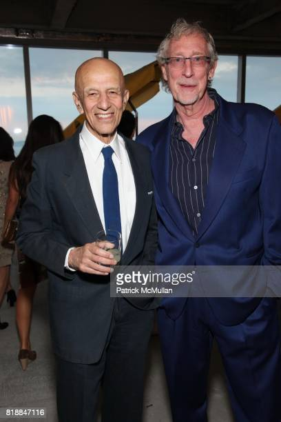 Alex Katz and Bill Miller attend New Museum Spring Gala and After Party Sponsored by Interview Magazine Melissa Shoes and Prairie Vodka at 7 World...