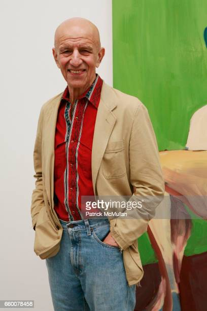 Alex Katz attends Opening Reception for CHANTAL JOFFE RECENT WORKS at Cheim and Read on May 7 2009 in New York City