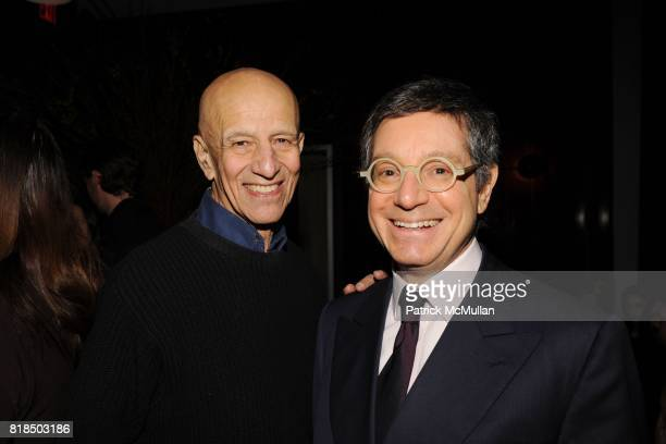 """Alex Katz Jeffrey Deitch attend Chiara Clemente's """"Our City Dreams"""" Screening Sponsored by Dior Beauty and Deitch Projects at Film Forum on February..."""