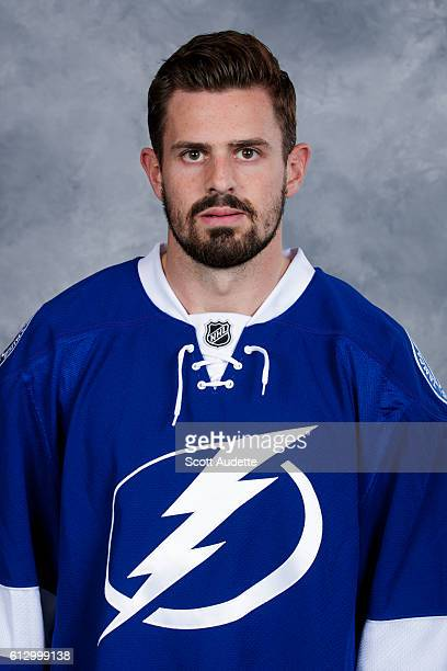 Alex Killorn of the Tampa Bay Lightning poses for his official headshot for the 20162017 season on September 22 2016 at Amalie Arena in Tampa Florida