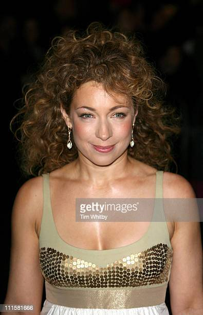 Alex Kingston during 2006 Laurence Olivier Awards Outside Arrivals at London Hilton in London Great Britain