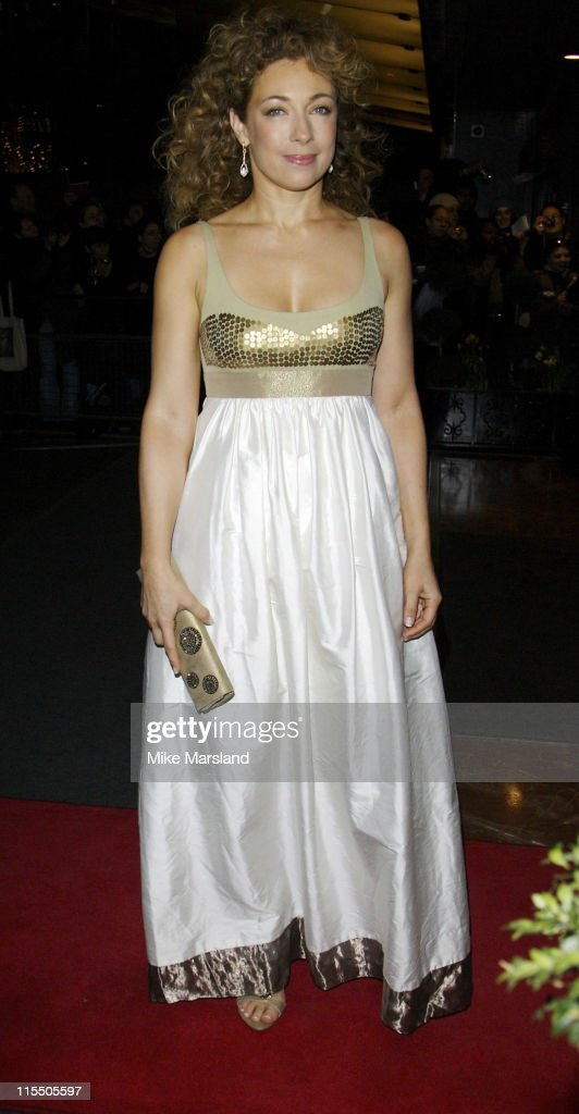 Alex Kingston during 2006 Laurence Olivier Awards - Outside Arrivals at London Hilton in London, Great Britain.