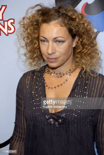Alex Kingston during 'Mary Poppins' Broadway Opening Night at the New Amsterdam Theatre Arrivals November 16 2006 at New Amsterdam Theatre in New...