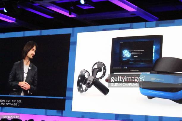 Alex Kipman the Microsoft engineer behind HoloLens touts augmented and virtual realities as the future of computing at a Build conference in Seattle...