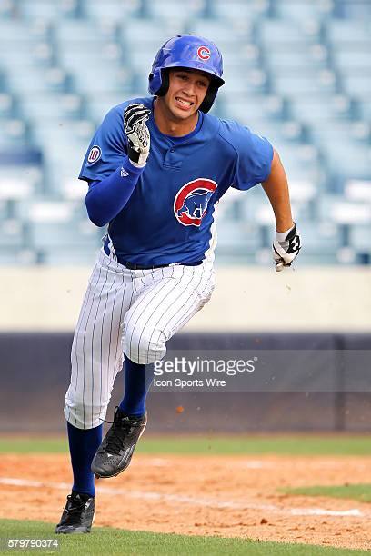 Alex Kirilloff of the Cubs during the 2015 East Coast Pro Showcase at Steinbrenner Field in Tampa Florida