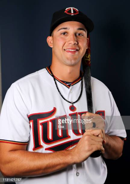 Alex Kirilloff of the Minnesota Twins poses for a portrait during Minnesota Twins Photo Day on February 22 2019 at Hammond Stadium in Fort Myers...