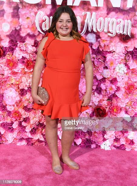 "Alex Kis arrives at the Premiere Of Warner Bros. Pictures' ""Isn't It Romantic"" at The Theatre at Ace Hotel on February 11, 2019 in Los Angeles,..."
