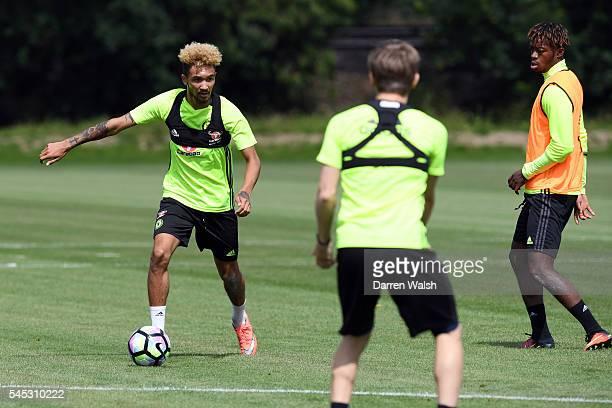 Alex Kiwomya at Chelsea Training Ground on July 6 2016 in Cobham England
