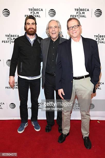 Alex Klein Robert Klein and Marshall Fine attend 'Robert Klein Still Can't Stop His Leg' Premiere 2016 Tribeca Film Festival at SVA Theatre 2 on...