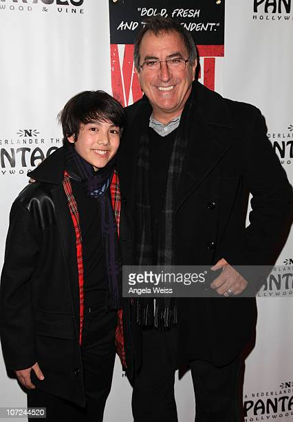 Alex Ko and Kenny Ortega attend the opening night of 'West Side Story' at the Pantages Theatre on December 1 2010 in Hollywood California