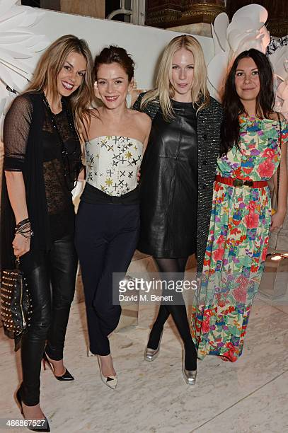 Alex Korobova Anna Friel Tuuli Shipster and Vicki Lewis attend the InStyle Best of British Talent party in celebration of BAFTA in association with...