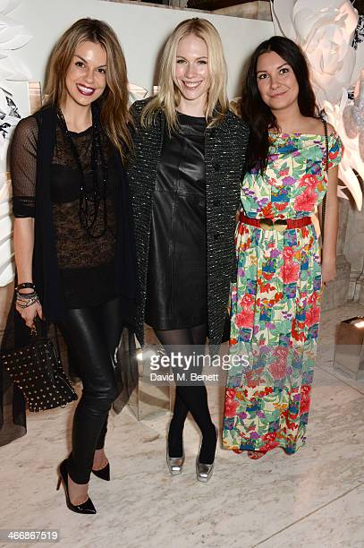 Alex Korobova Tuuli Shipster and Vicki Lewis attend the InStyle Best of British Talent party in celebration of BAFTA in association with Lancome and...