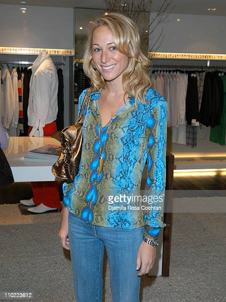 Alex Kramer during Bella Cuomo and Augustus Albemarle's Birthday Party March 17 2005 at Burberry in New York City New York United States