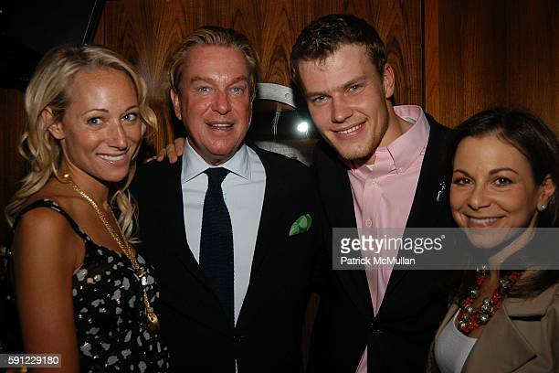 Alex Kramer Paul Wilmot Martin Saar and Bettina Zilkha attend Bob Colacello's Dinner For Martin Saar and Alex Kramer's Birthday at Lure Fishbar on...